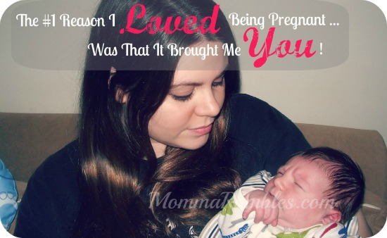 Ten Things I loved and hated about being pregnant