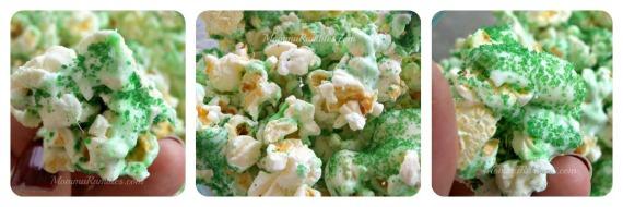 Lucky's Shamrock Popcorn Treat for St. Patrick's Day
