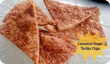 Cinnamon Sugar Tortilla Chips