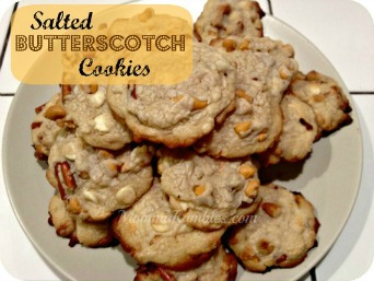 salted butterscotch cookies