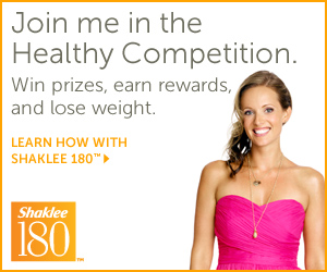 Loose weight with Shaklee 180!