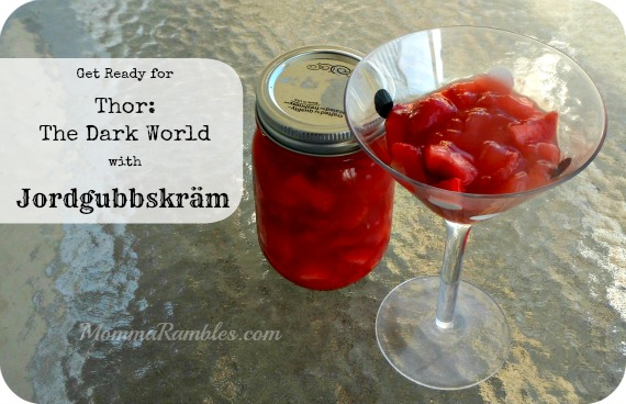 Make Strawberry Jordgubbskräm in honor of Thor: The Dark World