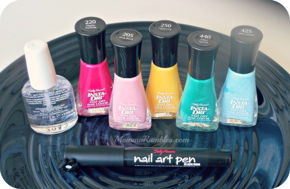 How Sally Hansen Reminded Me To Relax, Color Block and Enjoy Spring!
