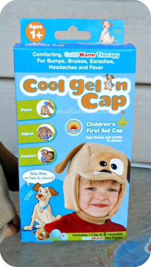 Cool the Bumps & Bruises with Cool Gel 'N Cap First Aid Cap