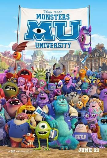 Monsters University Premiere & Final Trailer ~ #MonstersU