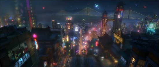First look at Disney's Big Hero 6!