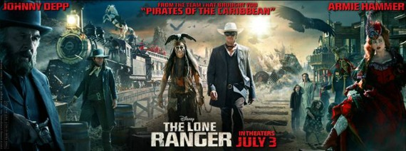 Check out the new trailer for The Lone Ranger!