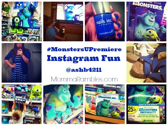 Monsters University Premiere Celebrity Guest List + Instagram Fun! ~ #MonstersUPremiere