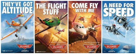Check Out New Character Posters from Disney's PLANES! ~ #DisneyPlanes
