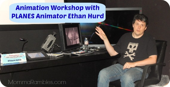 Disney PLANES Animation Workshop with Ethan Hurd ~ #DisneyPlanesEvent