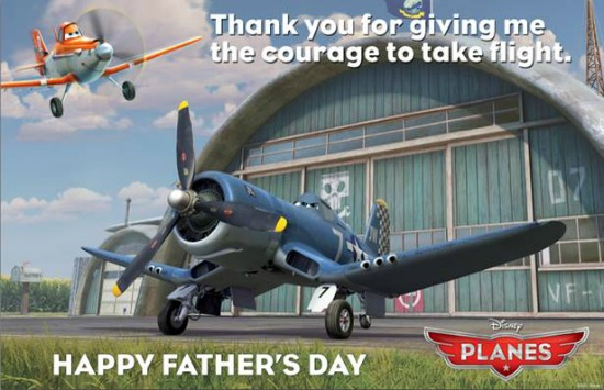 Happy Father's Day from Disney Summer Movies! ~ #MonstersU #DisneyPlanes