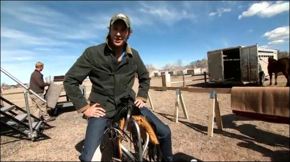 """Go Behind the Scenes with Armie Hammer in """"Cowboy Bootcamp"""" from THE LONE RANGER! ~ #LoneRanger"""