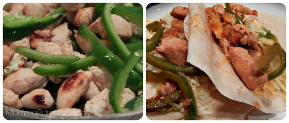 Sweet & Spicy Chicken Fajitas #Recipe ~ Inspired by #LoneRanger