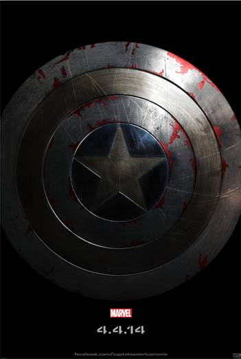 First Look at CAPTAIN AMERICA: THE WINTER SOLDIER Teaser Poster ~ #CaptainAmerica