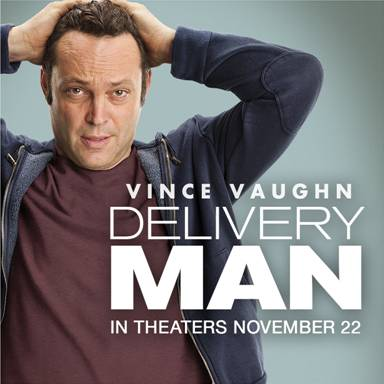 Watch the Brand New Trailer for DELIVERY MAN Starring Vince Vaughn! ~ #DeliveryManMovie