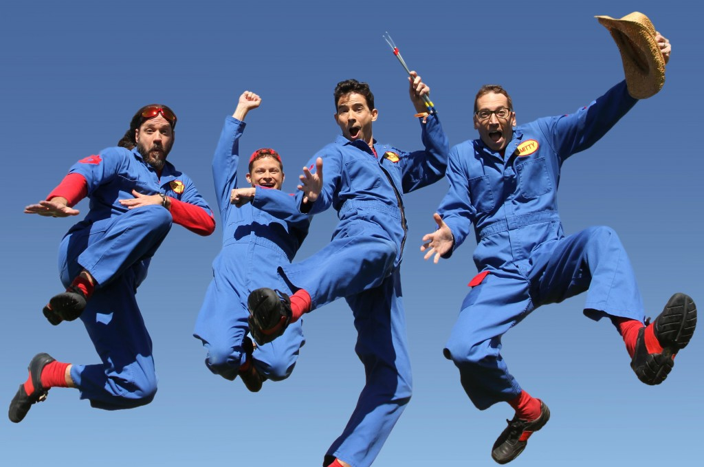 Imagination Movers are Back in Blue! ~ #BackInBlue