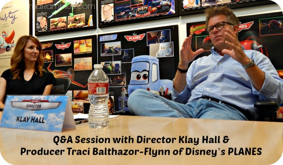Q&A Session with Director Klay Hall & Producer Traci Balthazor-Flynn ~ #DisneyPlanesEvent