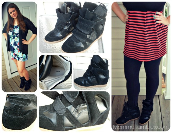 Upere: High End Wedge Sneakers ~ #Review