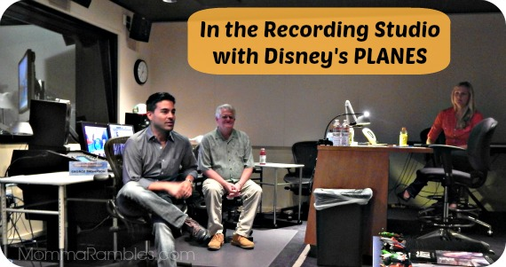 In the Recording Studio with Disney PLANES: Vocal Tracks ~ #DisneyPlanesEvent