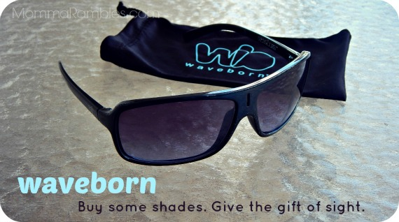 Waveborn: Buy Some Shades, Give the Gift of Sight ~ #Review