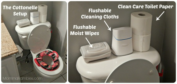 Changing Up Potty Training with a New Cottonelle Care Routine!