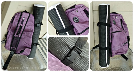 Must-Have Yoga Accessory: The Aurorae Yoga Sport Crossbody Sling Back Pack! ~ #Review