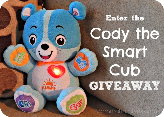 Enter to Win VTech's Cody the Smart Cub™! ~ #Giveaway