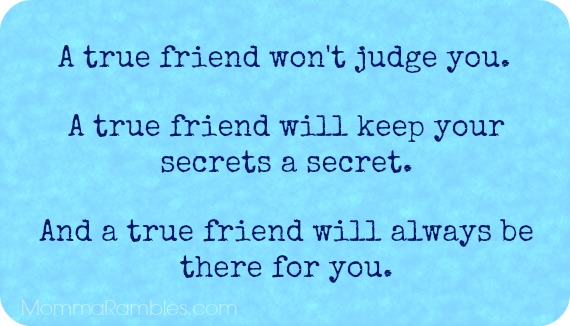 A True Friend... #Friendship #Quotes - Maryland Momma\'s Rambles