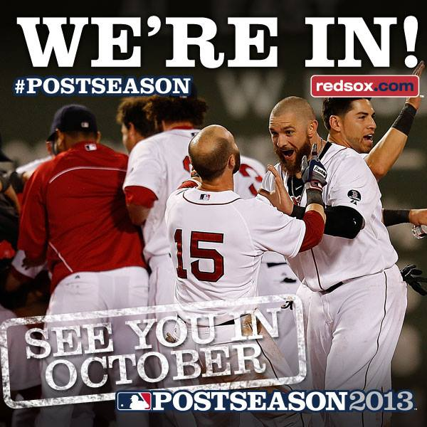 Congrats to the Boston Red Sox for Making Postseason 2013! ~ #MLB #GetBeard