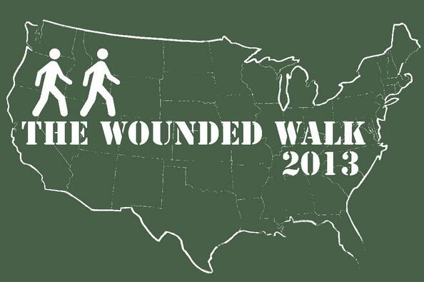 The Wounded Walk Across America for Wounded Warriors ~ #SoreFeetNation #WoundedWarriors