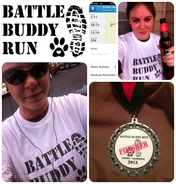 First Annual #BattleBuddy Run to Benefit the Battle Buddy Foundation ~ My 5K Race Results