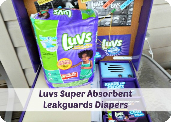 Luvs Super Absorbent Leakguards Diapers ~ # TheClueIsInTheBlue #Review