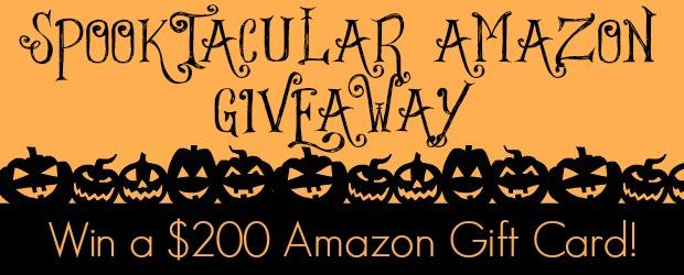 Spooktacular Amazon #Giveaway ~ #Win a $200 Amazon Gift Card!