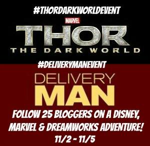 I'll Be Hanging Out With Heroes Thanks to Disney, Marvel, & DreamWorks! ~ #ThorDarkWorldEvent #DeliveryManEvent