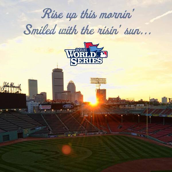 Get Ready for #WorldSeries 2013 as the Boston Red Sox Take On the St. Louis Cardinals! ~ #WinToday