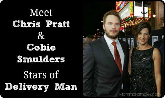 Get To Know Chris Pratt & Cobie Smulders of DELIVERY MAN! ~ #DeliveryManEvent Interview