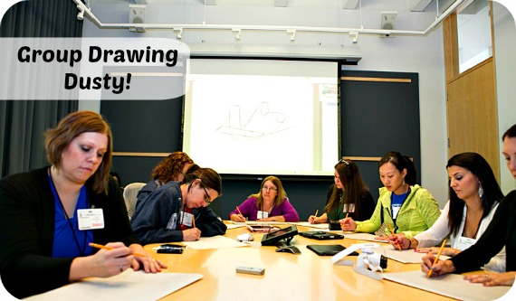 Story Artist Demostration:Drawing Life into Disney's PLANES ~ #DisneyPlanesBloggers