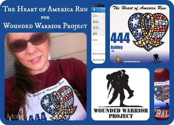 The Heart of America Run for Wounded Warrior Project ~ My 5K Results