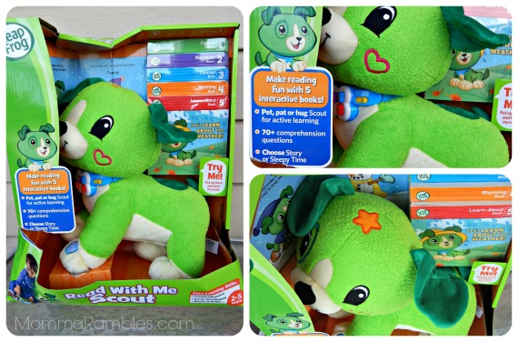 Read with Me Scout by LeapFrog: Perfect Gift For Preschoolers! ~ #ReadwithMeScout