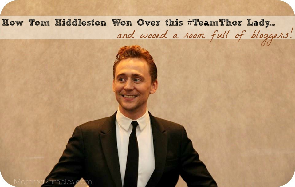 How Tom Hiddleston Won Over & Charmed This #TeamThor Lady! ~ #ThorDarkWorldEvent