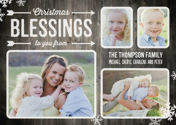 winterblessings - Tiny Prints Christmas Cards
