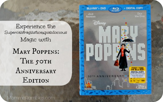 Experience the Supercalifragilisticexpialidocious Magic with MARY POPPINS: THE 50th ANNIVERSARY EDITION