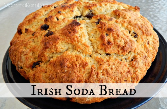 Easy #Recipe for Irish Soda Bread ~ In Honor of Captain America: The Winter Soldier ~ #CaptainAmerica