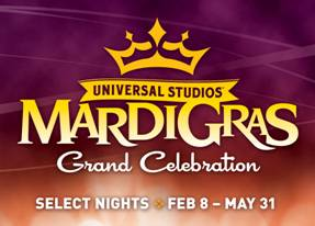 Universal Orlando Unveils Star-Studded Musical Lineup for 2014 Mardi Gras Celebration