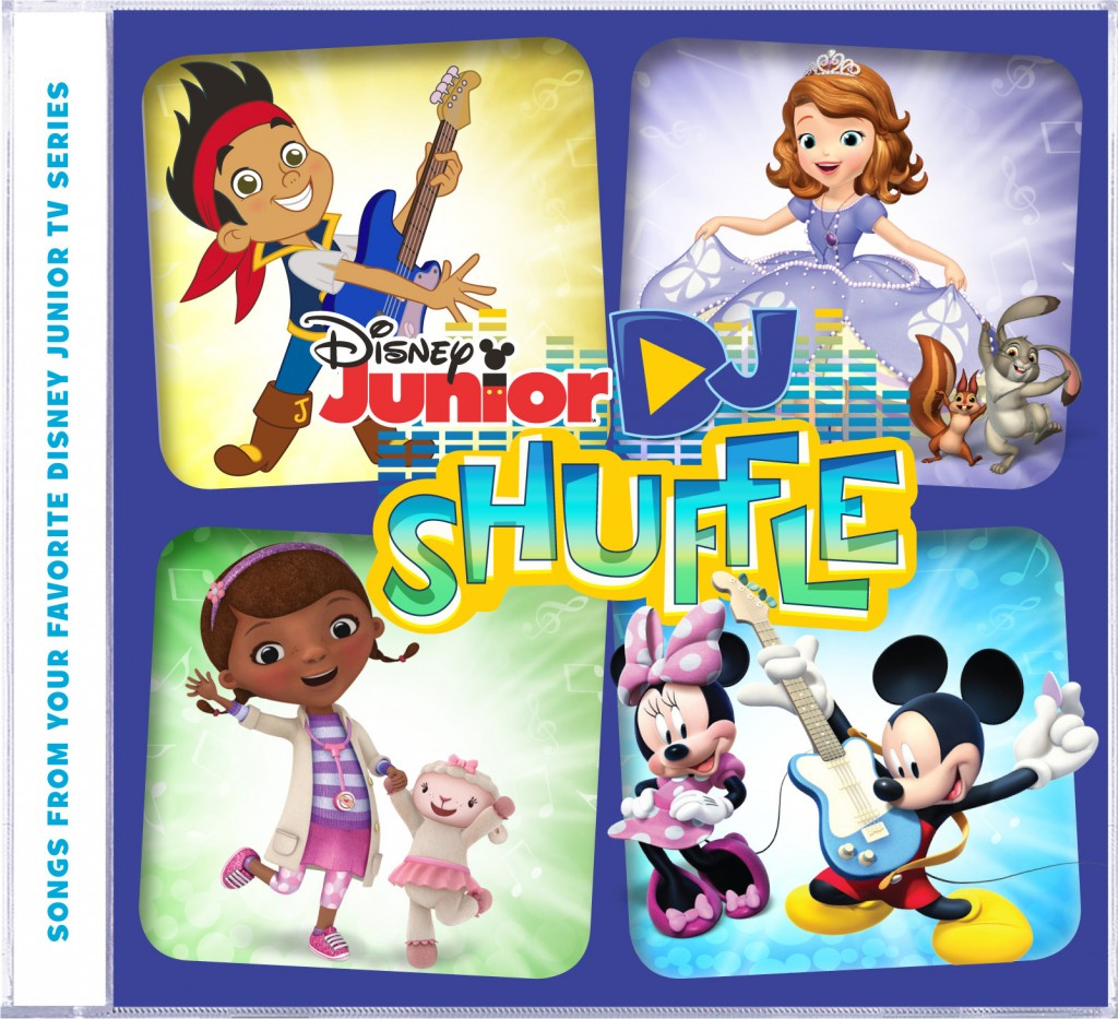 Get Ready to Sing & Dance With Disney Junior's DJ Shuffle! ~ #DisneyJunior #DisneySMMoms