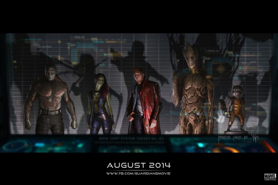 Get Ready for Guardians of the Galaxy! New Poster! New Art! ~ #GuardiansOfTheGalaxy @Guardians