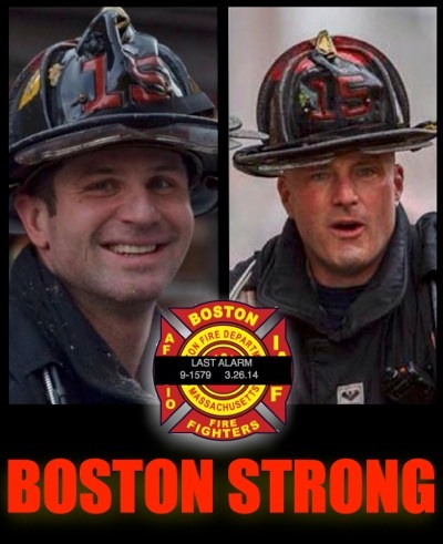 The Boston Firefighters Credit Union Establishes the Lieutenant Walsh - Firefighter Kennedy Memorial Fund ~ #BFDStrong