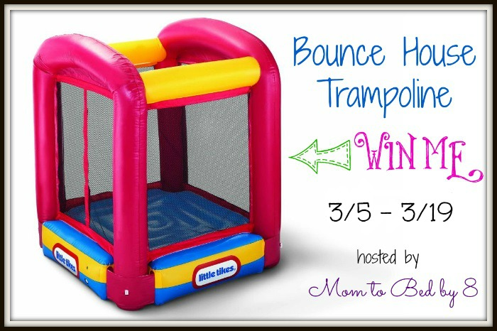 Win a Bounce House Trampoline! ~ #Giveaway