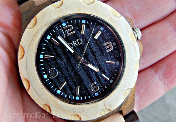 Unique Hand-Crafted All-Natural Wood Watches by JORD ~ #Review