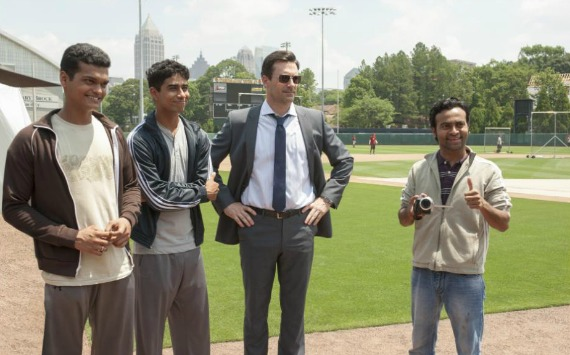 New MILLION DOLLAR ARM Clips + Interview with Jon Hamm! ~ #MillionDollarArm